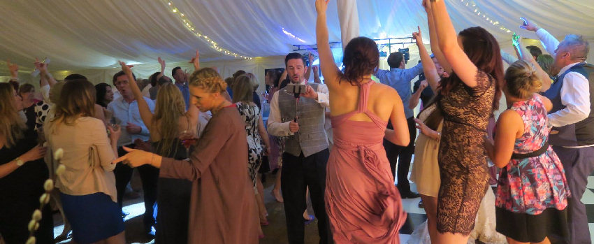 SoundONE Marquee Wedding